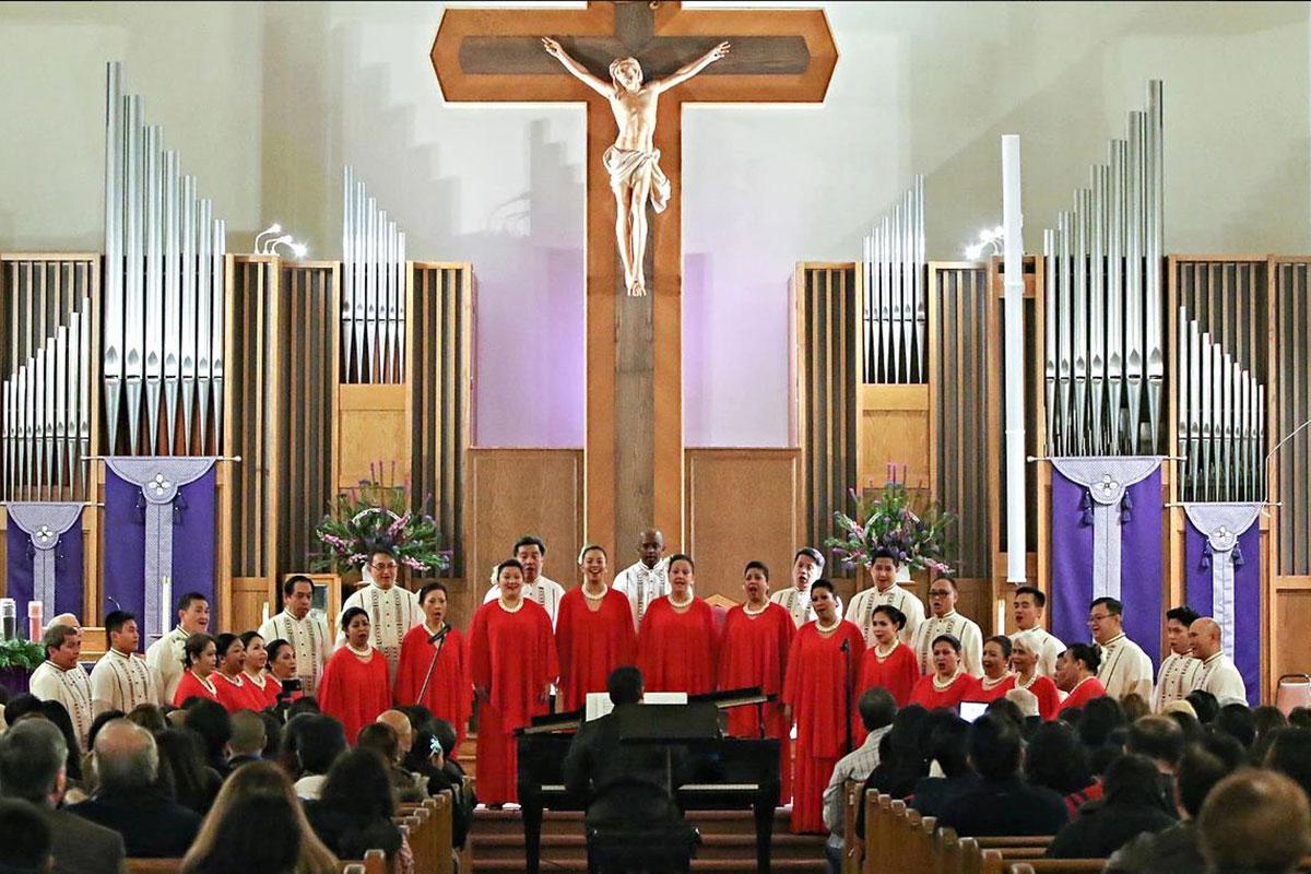 COR PHILIPPINE SARINGHMIG SINGERS de San Francisco
